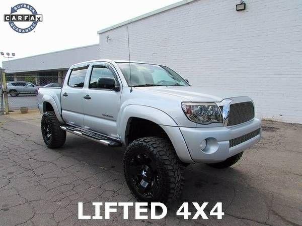 2009 Toyota 44 Truck Tacoma Lifted SR5 V6 Pickup Used Lift Kit Wheels (27025_We_Finance)