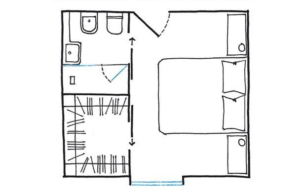 La cabina armadio: 10 progetti a seconda della tua camera