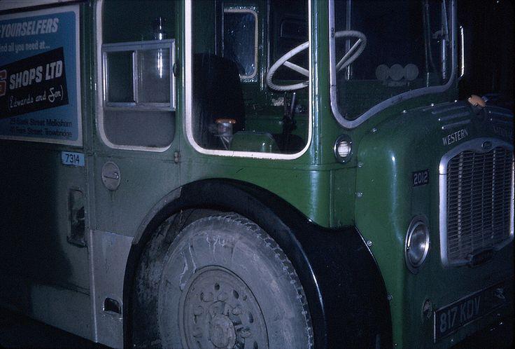 299 Chippenham service bus close up