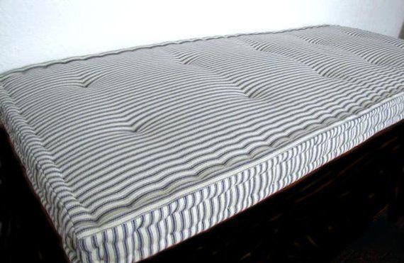 Linen Custom Window Bench Seats