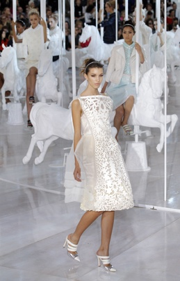 Pure fashion fantasy at its best... Louis Vuitton spring/summer 2012