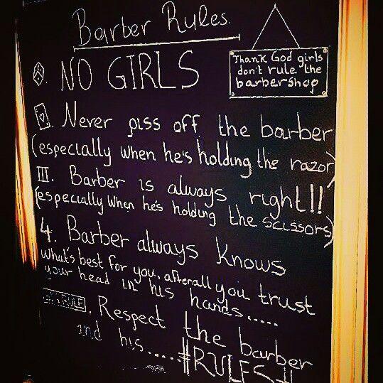 Barber Rules