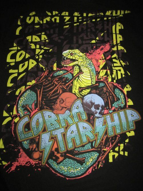 Cobra Starship Band Shirt  Size Large $12
