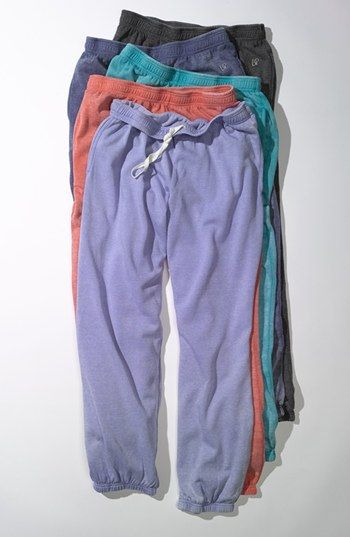 vintage style gym pants - great to throw on after work