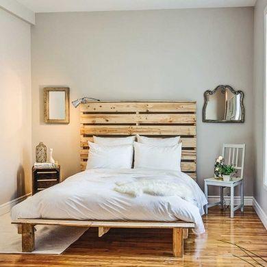 Transformer une chambre à moins de 500$ - Chambre - Avant après - Décoration et rénovation - Pratico Pratique