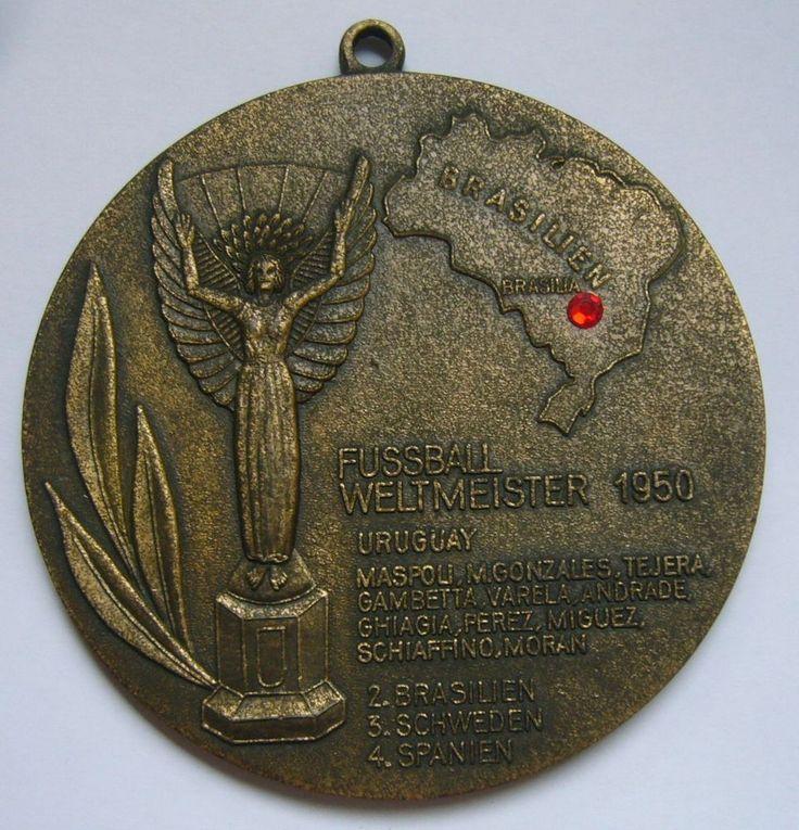 Brazil FIFA World Cup 1950 Medal / IV Campeonato Mundial de Futebol Brasil 1950    eBay