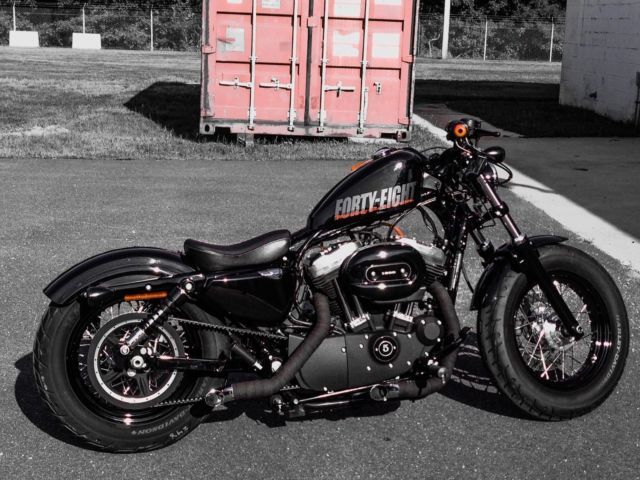2012 Harley Davidson Sportster 48 Forty Eight XL1200X Chopper, Bobber, Custom for sale in Springfield, Virginia, United States