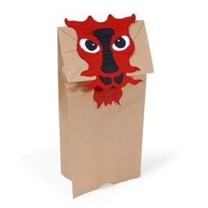 Paper Bag Puppet, Dragon