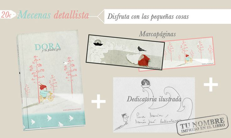 Recompensas para los mecenas detallistas de Dora. http://vkm.is/Dora