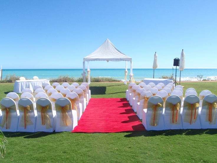 What a perfect spot for your wedding