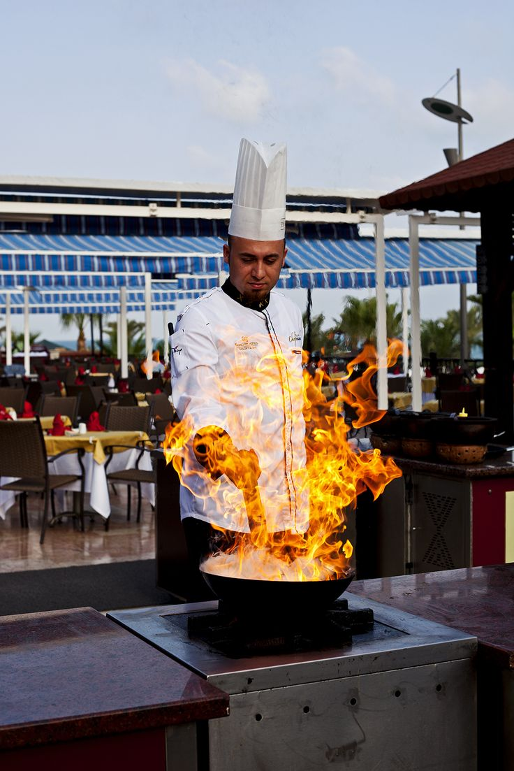 Garden #Grill a la carte #restaurant: offers a chance to 'cook it yourself' using traditional Turkish #barbeque buffet.