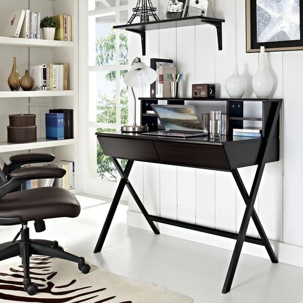 Hutch Office Desk - EMFURN