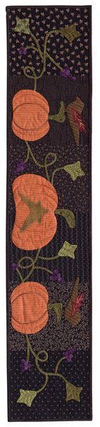 November quilt row designed by Lisa Bongean of Primitive Gatherings