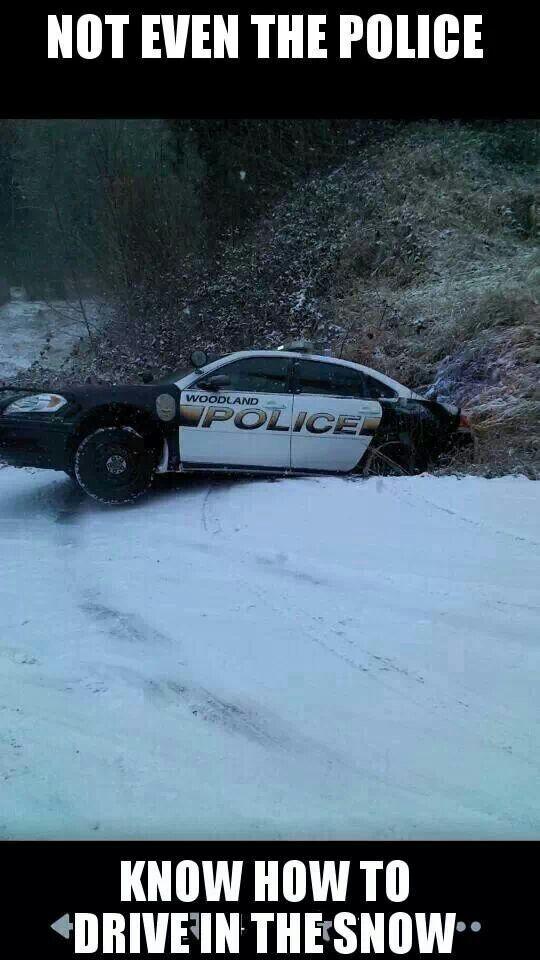 Whoopsie!  Woodland,  Wa police department