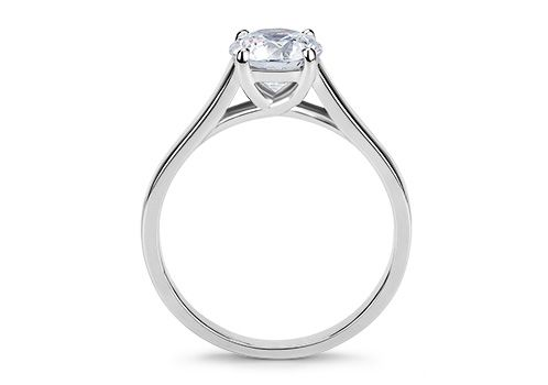 Classic Solitaire Engagement Rings From 77 Diamonds