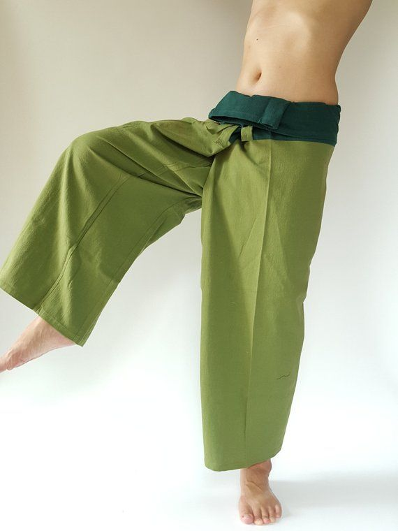 b757ce868e 2T0107 XL SIZE Thai fisherman/Yoga are pants Free-size: Will fit men or  woman