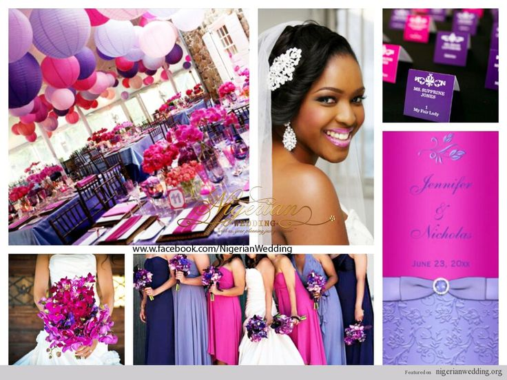 17 Best Images About Purple And Fuschia Wedding Ideas On