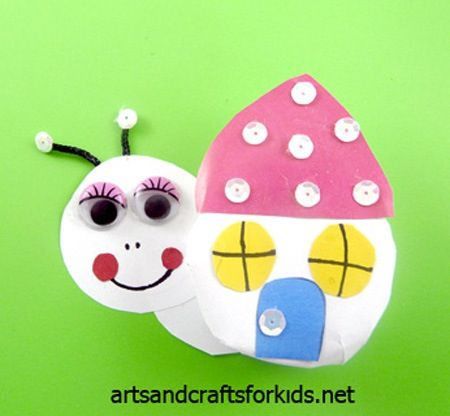Animal Snail Crafts For Kids