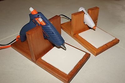 Hot Glue Gun Holder / Stand / Crafter / Floral / Hand Made in the USA