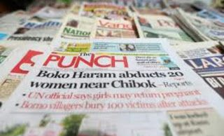 YinkaTimayin's Blog: MAJOR NEWSPAPER HEADLINES TODAY MONDAY 5TH JUNE 20...
