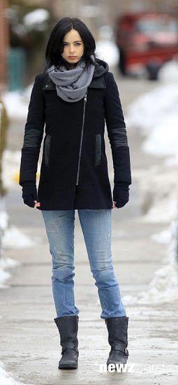 Krysten Ritter as Jessica Jones in AKA Jessica Jones