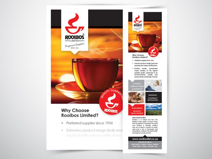 Corporate application revamp for client Rooibos Ltd