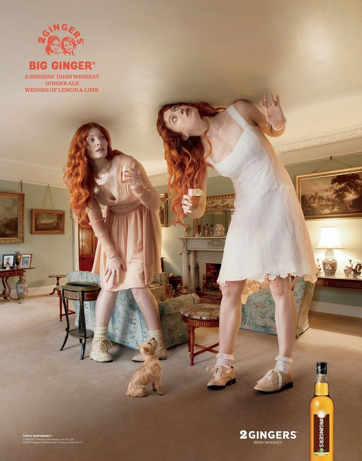 2 Gingers Irish Whiskey Finds the Perfect Ad Characters to Act Out Famous Drink Names  http://www.adweek.com/adfreak/2-gingers-irish-whiskey-finds-perfect-ad-characters-act-out-famous-drink-names-170065