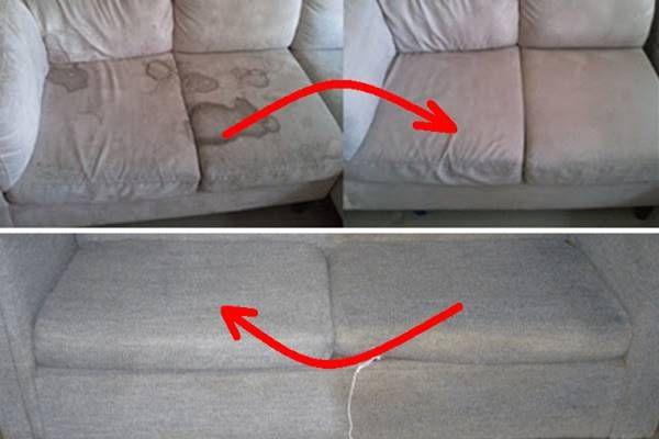 Ez a legegyszerűbb módja annak, hogy kitisztítsuk a piszkos kárpitokat! | Web