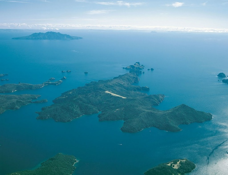 Kaikoura Island - Photo from helicopter