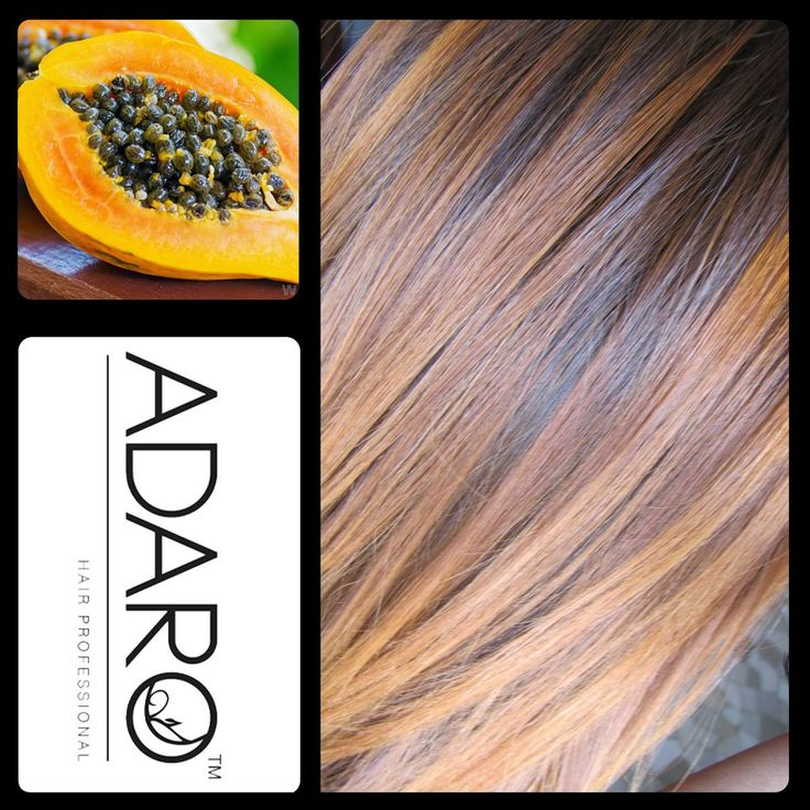 Pigmenti in GEL Adarò Papaye - Papaya. Dona un riflesso dorato rame sui capelli chiari. Ottimo per esaltare i riflessi caldi morbidi. Consigliato da un livello di fondo 5 ad uno 9.