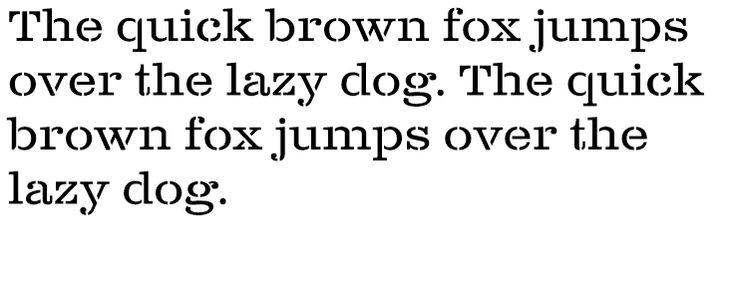Buy Clarendon Wide Stencil Regular desktop font from Canada Type on Fonts.com.