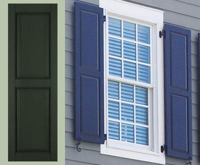 17 best images about good shutters on pinterest exterior for Recessed panel shutters