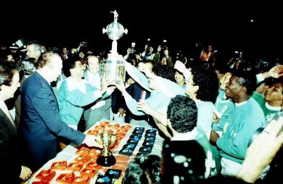 Atlético Nacional salío campeón de América, el 31 de mayo de 1989. (Campeón Copa Libertadores)