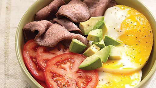 Hidden Menu - Power Breakfast Egg Bowl With Steak Shhh