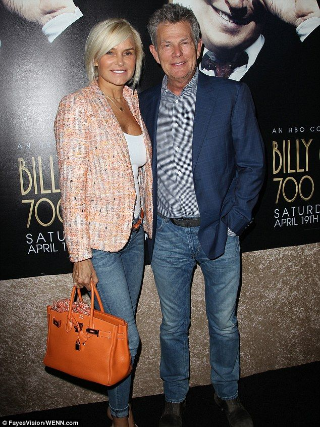 Casual look: Yolanda and David both kept it casual in jeans for the screening of Billy Cry... http://dailym.ai/1r41O5S#i-ac5f0e85