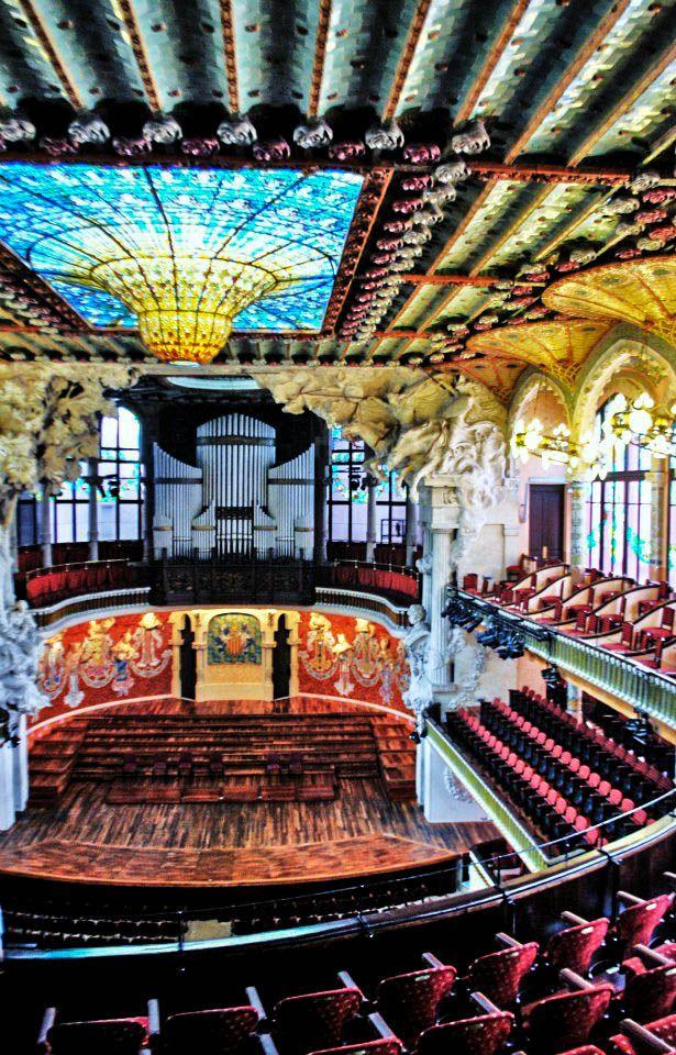 Palau de la Música Catalana, Barcelona 1905