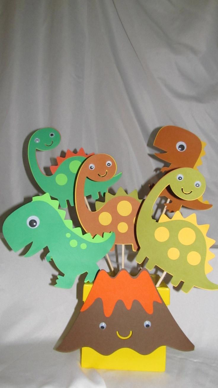 Dinosaur Party Centerpiece 7-piece