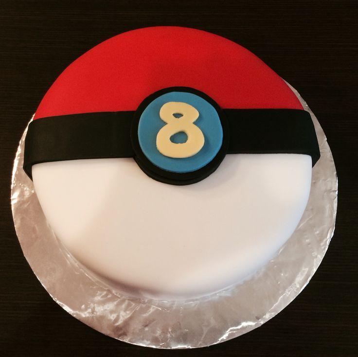 Pokemon Master Ball Cake