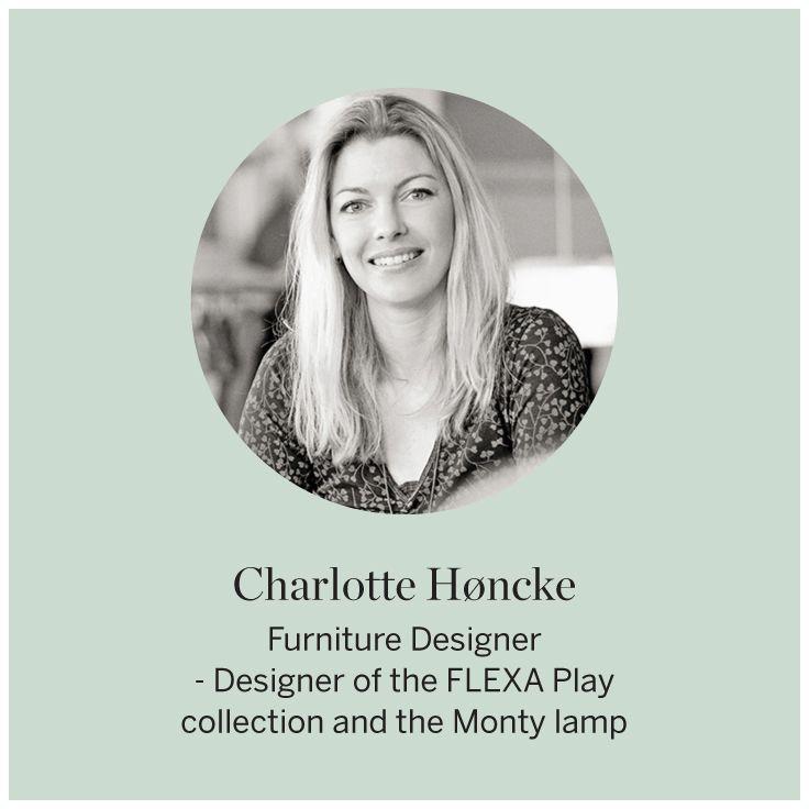 Designer Charlotte Honcke    #FLEXA #Designer #Play #art #enfants #Montylamp
