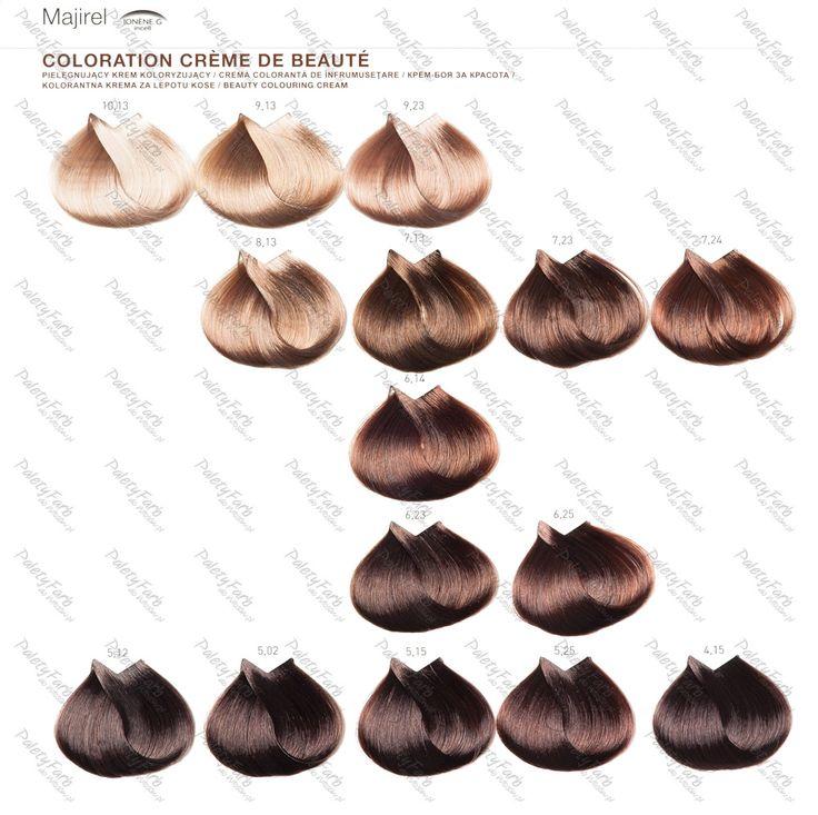 17 best ideas about majirel on pinterest lindsay lohan cheveux faits saillants cendr s and - Couleur inoa nuancier ...