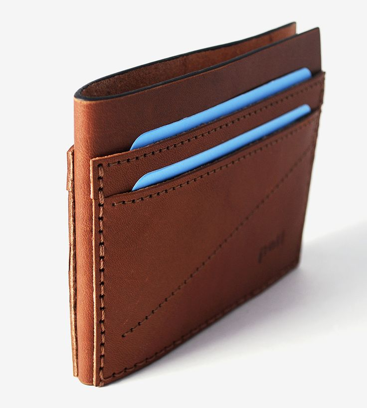 Leather Bifold Wallet | Replace your ratty, worn billfold with this sleekly…