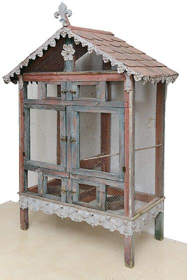 Even though we just bought a big cage for our squirrel, this one is my dream cage. -Elysia