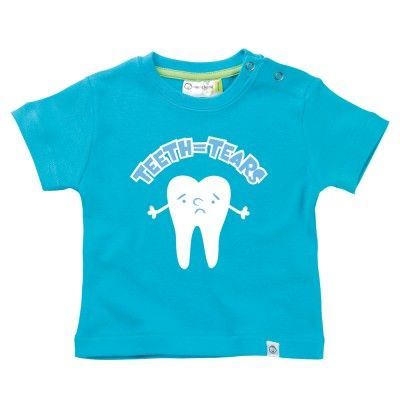 Teeth Equals Tears Baby T-Shirt by Hairy Baby