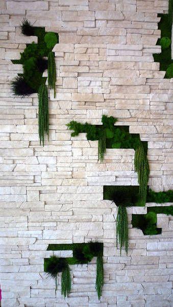 """Оригинальный декор стен. Мы сделаем интерьер """"живым""""! www.greentree38.ru"""