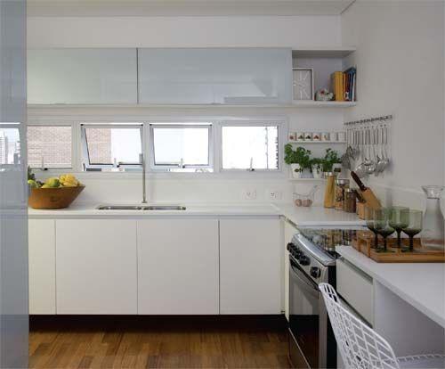 Armario Capsula Hombre ~ Janela sob armários da cozinha Decoraç u00e3o Pinterest Projetos de cozinhas, Cozinha e Janelas