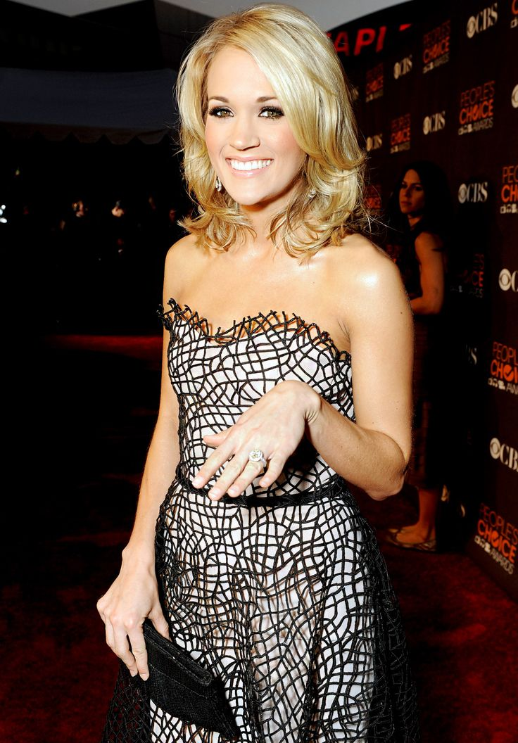 Best Celebrity Engagement Rings of All Time: Carrie Underwood