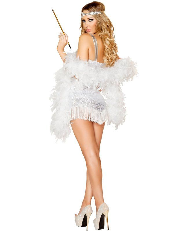 Check out Women's Sexy Femme Fatale Flapper Costume - 20's Adult Costumes from Wholesale Halloween Costumes