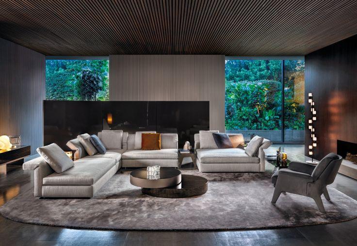 Minotti, design per la casa - living firmato da Rodolfo Dordoni