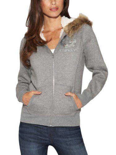 G by GUESS Women's Fay Faux Fur-Trim Hoodie, CLOUDY GREY HEATHER (XS) G by GUESS http://www.amazon.com/dp/B00FASK0YI/ref=cm_sw_r_pi_dp_EMa-tb0CCKW78