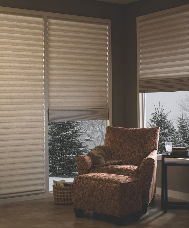 30 best images about hunter douglas vignette modern roman for Roman blinds for large windows